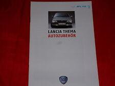 LANCIA Thema Autozubehör Prospekt von 1989