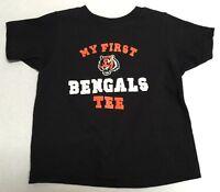 Cincinnati Bengals Football NFL Reebok Team Apparel official infant T-shirt New