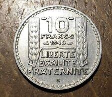PIECE DE 10 FRANCS TURIN 1948 B (138)