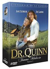 5977// DOCTEUR DR QUINN FEMME MEDECIN SAISON 4 COFFRET 8 DVD NEUF SOUS BLISTER