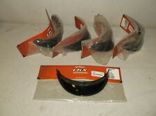 Lot of 5 Kimpex #192243 Black Visors for CKX VG502 and TC Breezy/Freedom Helmets