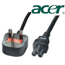 Clover Mains Power Cable with UK Plug for ACER Laptop NEW