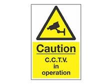 Cámara De CCTV Señal de advertencia (A4) cámaras de seguridad señal de advertencia - 20 X 30 Cm