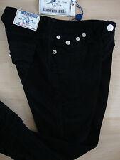 TRUE RELIGION Jeans STRAIGHT WFLPS BLK CORD Damen Jeanshose Gr.25 NEU mit ETIKET