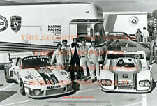 "PORSCHE MARTINI RACING POSTER 1976 - 36"" x 24"" ULTRAPRINT IMAGE PHOTO PICTURE"