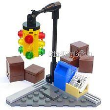 Lego City Corner Street Intersection ONLY (No Minifigure NoBox No Bike) 6858 NEW