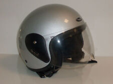 CASCO MOTO SCOOTER PROJECT FLASH ARGENTO TG L NUOVO