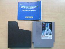 Nintendo NES - Adventures in the Magic Kingdom- Manual INCLUDED