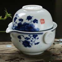 Tea Set Include 1 Pot 1 Cup Gaiwan Easy Teapot Quick Cup Travel Set