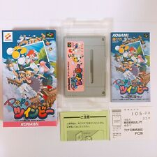 Pop'n Twin Bee Super Famicom SFC SNES Nintendo Japan games VERY GOOD CONDITION!