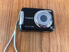 Canon PowerShot A480 10.0MP Digital Camera  Black Excellent Condition Ships Fast
