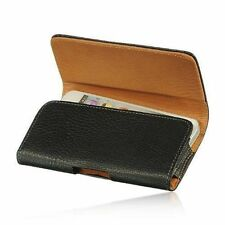 PU Leather Horizontal Holster Belt Clip Pouch Case Samsung Galaxy S7 S6 Edge S5