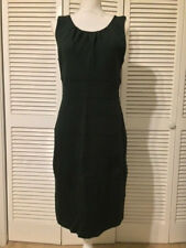 Super Sexy Dark Green Dress by Donna Ricco NY Size 14 Stretchy