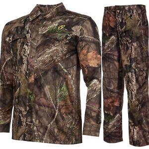 Scent Blocker Terratec Shirt & Pant XXL XL Mossy Oak Turkey & Deer Bowhunting