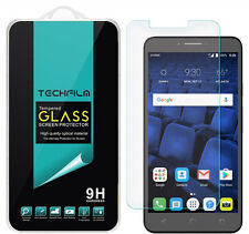 TechFilm Tempered Glass Screen Protector Saver For Alcatel Pixi Theatre