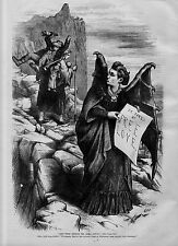VICTORIA WOODHULL AS THE DEVIL SATANIC CHARACTER ANGEL OF DARKNESS FREE LOVE