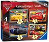 06894 Ravensburger Disney Pixar Cars 3 4-in-a-Box Jigsaw Puzzle McQueen 3+