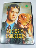 Socios y Sabuesos Tom Hanks - DVD Español Ingles Region 2 - 3T