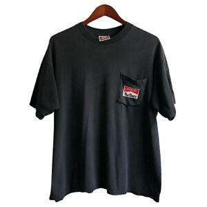 Vintage Marlboro Man T Shirt XL Pocket Tee Single Stitch FOTL NEW