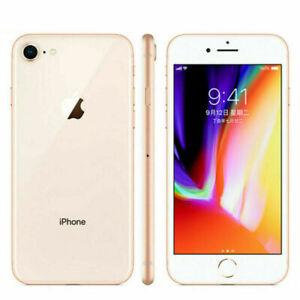 Apple iPhone 8 - 64GB - Gold (Unlocked) (CDMA + GSM) (AU Stock) Smartphone