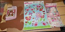 Celebrate It Valentine's Day Window Clings Birds Text UR Foam Bear Stickers 22D