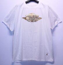 Air Jordan Retro 1 Gold Pinnacle White Gold T-Shirt Mens Size XX-Large 2XL New
