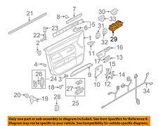 VW VOLKSWAGEN OEM 07-10 Touareg Front Door-Window Switch 7L6959857D3X1