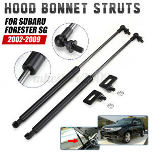 Car Front Hood Gas Strut Lift Support Bars 43.5 CM For Subaru Forester SG 02-09