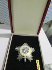 YUGOSLAVIA ORDER of National Army with Silver Star silver pounced 900/1000