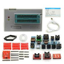TL866CS Programmer USB EPROM EEPROM FLASH BIOS AVR AL PIC M108 with 21 Adaptors