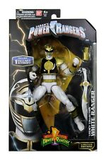 "Power Rangers Legacy Collection White Ranger Limited Edition 6.5"" Figure Bandai"