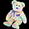 TY BEANIE BABIES A/ PACIFIC EXCLUSIVE KIWIANA SERIES 1  MINT WITH MINT TAG