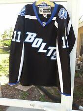 """Reebok CCM Tampa Bay Lightning """" Bolts"""" Fight Strap """"Boyle"""" Sewn Jersey. Size 48"""