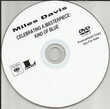 MILES DAVIS Kind of Blue DOCUMENTARY ADVNCE TST PRESS PROMO DVD VIDEO 2009 USA