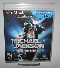 Michael Jackson The Experience Playstation 3 PS3 Brand New Sealed!