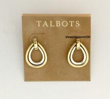 Talbots 2-in-1 Silver & Gold Tones Earrings