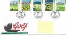 wbc. - GB - FIRST DAY COVER - FDC - COMMEMS -1994- GOLF COURSES - Pmk  TURNBERRY