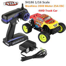 HSP 94186 1/16 4WD RC Off-road Car Truck Brushled 2040 Motor 25A ESC Model Toy