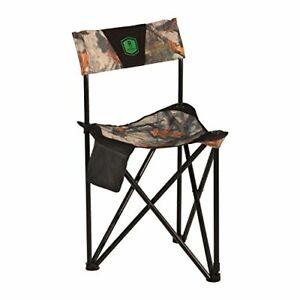 Tripod XL Folding Hunting Chair Bloodtrail Heavy Duty Robust Design 300 Lbs Camo