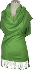 Pashmina  Schal 70% Cashmere 30% Seide silk Grün scarf green écharpe Foulard