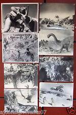 (Set of 16) One Million Years B.C. (Raquel Welch) ORIGINAL FILM B & W Fotos 60s
