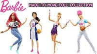 Barbie Made to Move Collectable Careers Fashion Dolls
