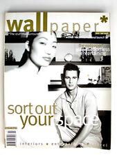 Wallpaper Magazine Issue 9 March/April 1998