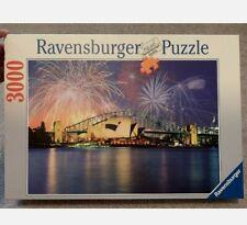 Ravensburger 3000 Piece Puzzle Sydney, Australia at Night-RARE New / Sealed