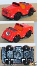 RARE TYPE GALOOB MICRO MACHINE VOITURE DECAPOTABLE ROUGE NO HO 1/100 occasion