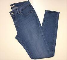 Womens Levi's 710 Super Skinny Light Blue Wash Size 30