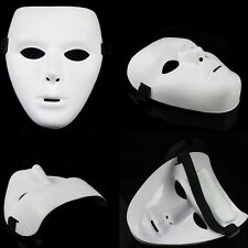 New White Face Mask Halloween Party Masks Hip-Hop Ghost Dance Performances Props