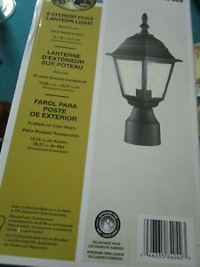 """HAMPTON BAY LANTERN WALL LAMP NEW IN BOX 240-369 15"""""""