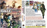 GATE: Jieitai Kanochi Nite, Kaku Tatakaeri Season 1+2 ENGLISH DUB +Tracking