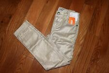 NWT Gymboree Prep Perfect Size 8 Shiny Gold Woven Pants Jeans